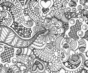 Coloring pages Art Therapy Anti-Stress