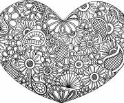 Coloring pages Art Therapy Love