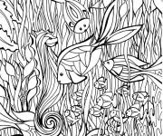 Coloring pages Art Therapy The Sea