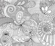 Coloring pages Art therapy to relax