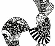 Coloring pages Art Therapy to relax in color