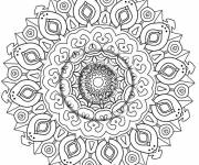 Coloring pages Mandala Art Therapy
