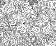 Coloring pages Relaxing Art Therapy