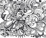 Coloring pages Vector Art Therapy