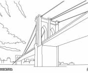 Free coloring and drawings Giant bridge Coloring page