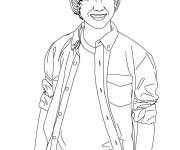 Coloring pages Camp Rock Character