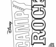 Coloring pages Nursery Rock Camp