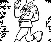 Coloring pages Canadian police to download