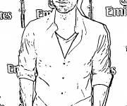 Coloring pages Celebrities American Actor