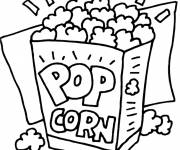 Coloring pages Cinema and fun