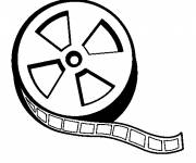 Coloring pages Film roll