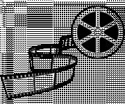 Coloring pages Real film in black and white