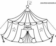Free coloring and drawings Circus Kindergarten Coloring page