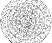 Coloring pages Adult Mandala to be colored