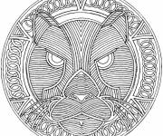 Coloring pages Easy Cougars