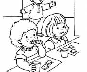 Coloring pages Easy dining