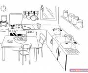 Coloring pages The Cartoon Kitchen