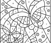 Coloring pages Children's Number Drawing