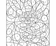 Coloring pages Color Number Drawing