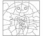 Coloring pages Color the Numbers to find out