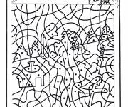 Coloring pages Magic points