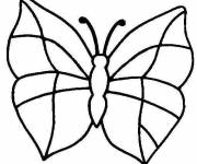 Coloring pages Butterfly Easy to make