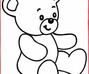 Coloring pages Easy Plush