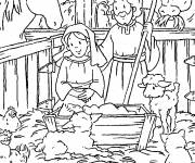Free coloring and drawings Eat jesus Coloring page