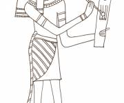 Coloring pages Ancient egypt in pencil