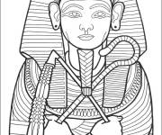 Coloring pages Egypt pharaoh