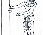 Coloring pages Papyrus ancient egypt