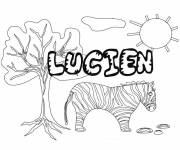 Coloring pages Lician First Names