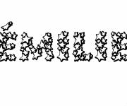 Coloring pages My First Name Emilie