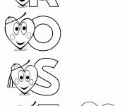 Coloring pages The Pink Names