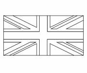 Coloring pages England flag
