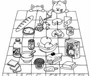 Coloring pages Food and health