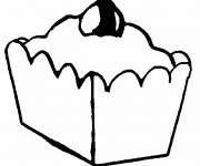 Free coloring and drawings Food Pie Coloring page