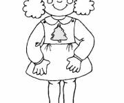 Coloring pages Girl 10 years old