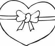 Free coloring and drawings Magic love heart Coloring page