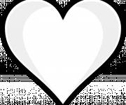 Free coloring and drawings Vector heart Coloring page