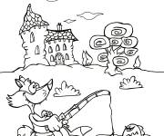 Coloring pages Campaign in Summer