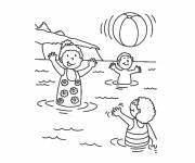 Coloring pages Sea Vacations
