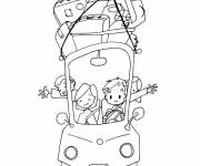 Coloring pages Vacation Travel