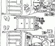 Coloring pages Children's hospital