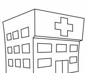 Coloring pages Hospital Theme