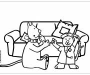 Coloring pages Humor Hospital