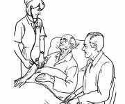 Coloring pages Maternal hospital
