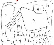 Coloring pages Magic house to color