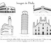 Coloring pages Imagier of Italy