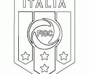 Coloring pages Italy Easy Foot